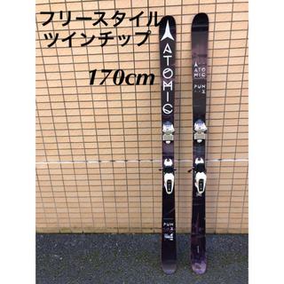ATOMIC PUNX 170cm+SQUIRE11 ツインチップスキー