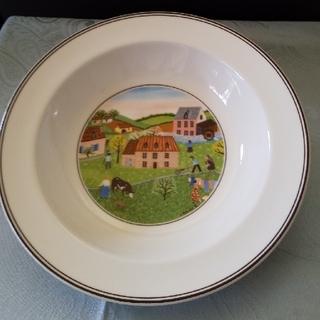 ビレロイアンドボッホ(ビレロイ&ボッホ)の 🇩🇪Villeroy&Boch 陶器の小物入れと 深皿(小物入れ)