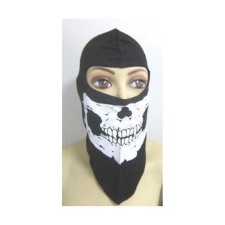 即買いOKフェイスマスク インナーバイクサバイバル/防寒ドクロ(戦闘服)