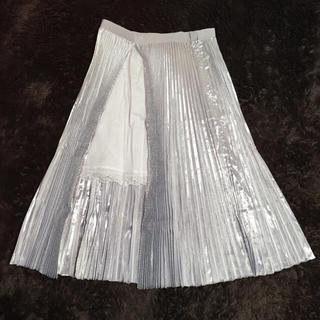 サカイラック(sacai luck)の新品2015ss プリーツスカート(ロングスカート)
