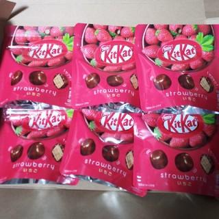 【お買い得】キットカットいちご 6袋  チョコレート詰め合わせ