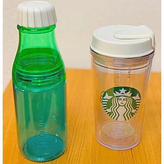 Starbucks Coffee - スタバクリアタンブラー未使用2本セット