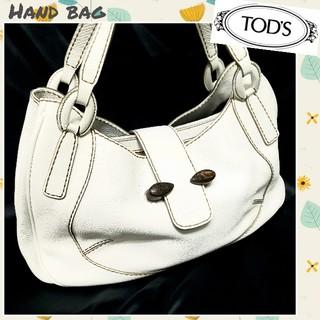 トッズ(TOD'S)の◇TOD'S◇レザーハンドバッグ クラシックデザイン 美品(ハンドバッグ)