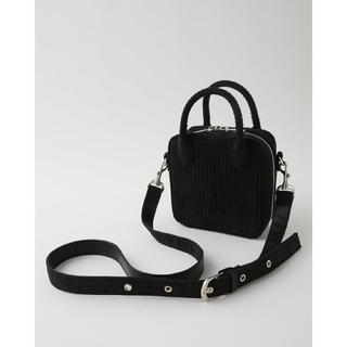 moussy - MOUSSY★SQUARE MINI CORD SHOULDER BAG