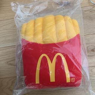 マクドナルド(マクドナルド)のマクドナルド ポテトクッション非売品(ノベルティグッズ)