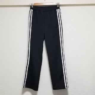adidas - アディダス 3本ラインパンツ サイズM ジャージブラック☆