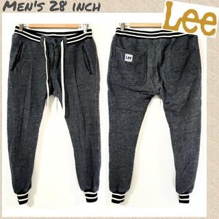 Lee - ♤Lee♤デニムスウェットパンツ リブパンツ 裏起毛 メンズ28インチ