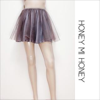Honey mi Honey - HONEY MI HONEY  チュール スカート♡deicy ミークチュール