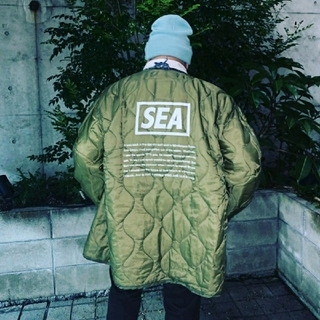 Zoff - WIND AND SEA QUILTING LINER JACKET(SP) /