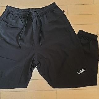 ヴァンズ(VANS)の【新品試着のみ】VANS ナイロンパンツ 黒 sizeL(その他)