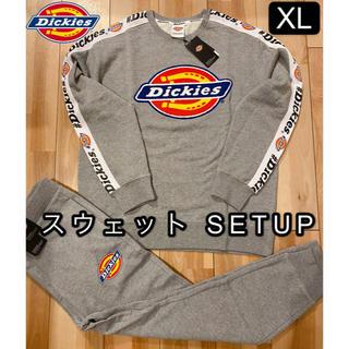 Dickies - 新品タグ付き 大きいサイズXL ディッキーズ 春スウェット セットアップ グレー