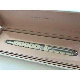 ケイトスペードニューヨーク(kate spade new york)のkate spade 新品未使用 ボールペン ホワイト(ペン/マーカー)