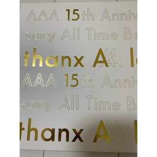 トリプルエー(AAA)の【初回生産限定盤】AAA -thanx AAA lot- (ミュージック)