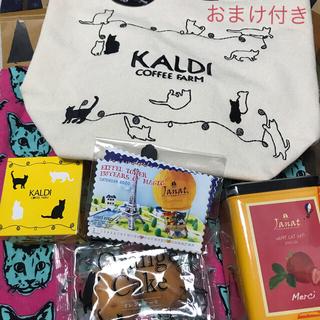 カルディ(KALDI)のネコの日バッグ (トートバッグ)
