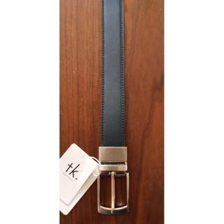 タケオキクチ(TAKEO KIKUCHI)のtk. 新品 メンズ リバーシブルレザーベルト(ネイビー/グレー)(ベルト)