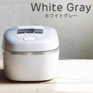 TIGER - タイガー 圧力IH 炊飯器5.5合 JPC-A101 土鍋コーティング炊飯ジャー