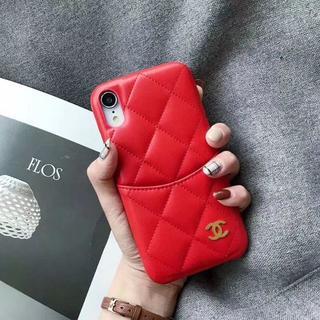 シャネル(CHANEL)の人気品CHANELシャネル iPhoneケース アイフォンケース 赤(iPhoneケース)