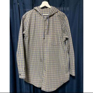 アクネ(ACNE)のacne studios オーバーサイズ チェックシャツブルゾン ジャケット(シャツ)