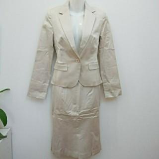 エムプルミエ(M-premier)のエムプルミエ テーラードジャケット×ミディスカートスーツ タイトスカートスーツ(スーツ)