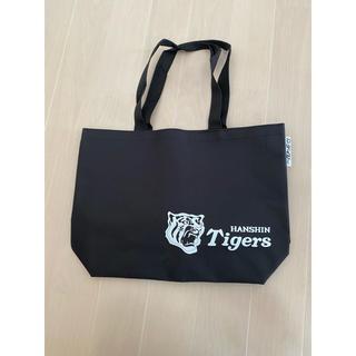 ハンシンタイガース(阪神タイガース)の阪神タイガース トートバッグ ブラック(応援グッズ)
