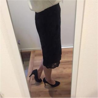 しまむら - しまむら ブラック タイトスカート