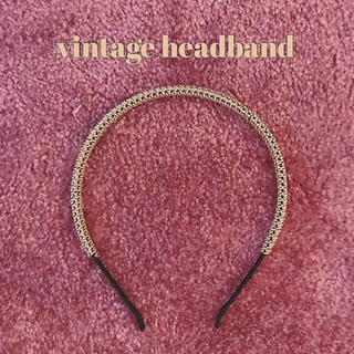 Lochie - catty kitten  vintage headband
