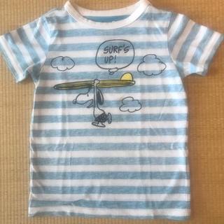 セブンデイズサンデイ(SEVENDAYS=SUNDAY)の【stomp stamp】スヌーピTシャツ 120cm(Tシャツ/カットソー)