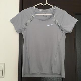NIKE - NIKE  DRY FIT ナイキ ドライフィット Tシャツ ライトグレー