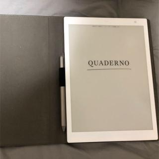 フジツウ(富士通)の富士通 QUADERNO クアデルノ 電子ペーパー A5(電子ブックリーダー)