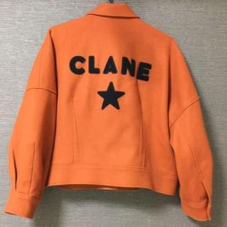 コンバース(CONVERSE)のコンバーストウキョウ× CLANE クラネ 限定ウールスタジャン オレンジ(スタジャン)