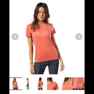 リーボック(Reebok)の#リーボック #レディース #L #ロゼオレンジ(Tシャツ(半袖/袖なし))