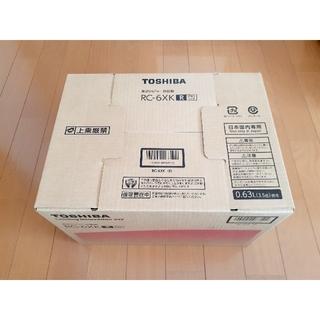 東芝 - 【新品未開封】東芝 IHジャー炊飯器 3.5合炊き レッド RC-6XK(R)