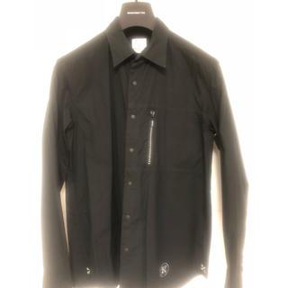 ユニフォームエクスペリメント(uniform experiment)のuniform experiment  長袖シャツ/4/コットン/BLK/(シャツ)