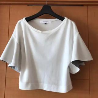 ルシェルブルー(LE CIEL BLEU)のルシェルブルー フレアーTシャツ(Tシャツ(半袖/袖なし))