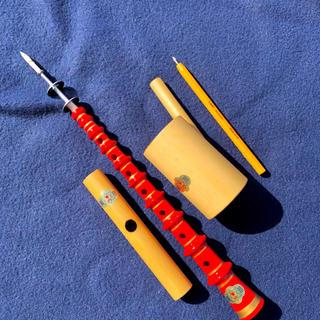 擬音笛 カッコウ、喇叭、チャルメラ各1 ほとんど未使用(その他)