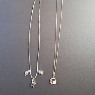 ネックレス2本 おまけ指輪(ネックレス)