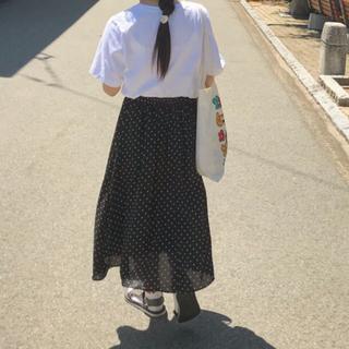 GU - ドット柄 スカート GU