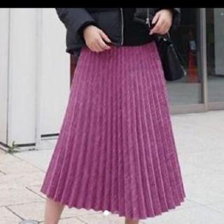リエンダ(rienda)の新品定価以下送料こみ♡ツイードスカート(ひざ丈スカート)