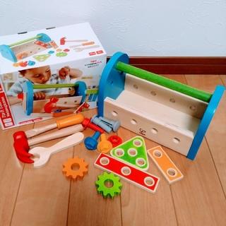 ボーネルンド(BorneLund)のHape(ハペ) カーペンター ツールボックス (知育玩具)