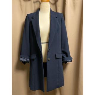 トランテアンソンドゥモード(31 Sons de mode)のジャケットコート ネイビー 36 春秋ジャケット(テーラードジャケット)
