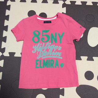 トミーヒルフィガー(TOMMY HILFIGER)のトミーヒルフィガー   ピンクTシャツ(Tシャツ/カットソー)