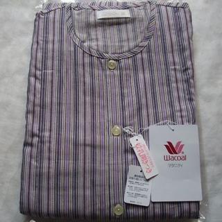 Wacoal - ワコール マタニティ パジャマ  M〜L 授乳開き付き 綿100%