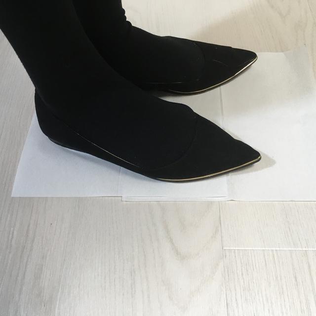 ZARA(ザラ)のZARA   パンプス ぺたんこ レディースの靴/シューズ(ハイヒール/パンプス)の商品写真