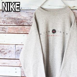 NIKE - ナイキ 90s USA製 刺繍ロゴ ナイキタウン  トレーナー スウェット M