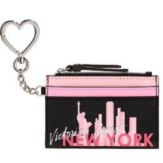 Victoria's Secret - ヴィクトリアシークレット カードケース キーホルダー 新品 NY