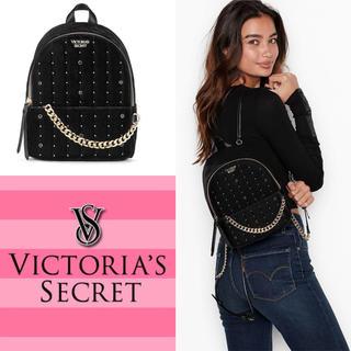 Victoria's Secret - 【セール】ヴィクトリアシークレット ミニリュック ベルベット ブラック