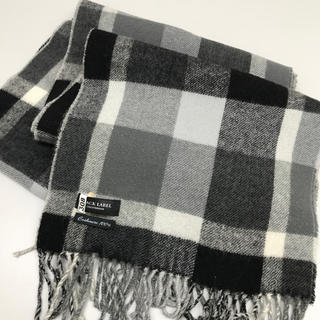 BURBERRY BLACK LABEL - マフラー