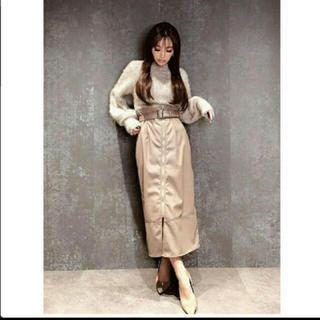 eimy istoire - ❤️【送料込】ベルト付きフェイクレザースカート