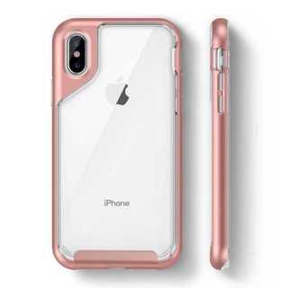 シンプルが1番!iPhone ケースクリア 大人気 商品 赤