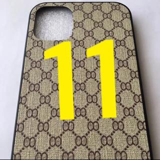 iPhone 11ケース/モノグラムベージュ/☀️スマホも着替えなきゃね⁉️☀️